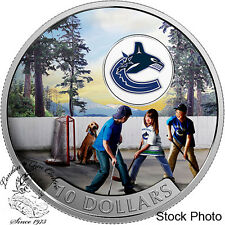 Canada 2017 $10 Passion to Play: Vancouver Canucks Silver Coin