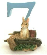 Beatrix Potter Peter Rabbit Birthday Age Number 7 Figurine A6220