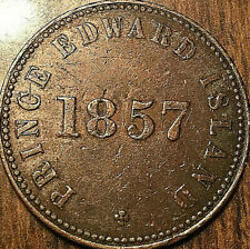 1857 PEI SELF GOVERNMENT AND FREE TRADE HALF PENNY TOKEN - Medal die axis