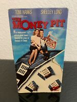 The Money Pit (VHS, 1986) Tom Hanks Steven Spielberg Same Day Shipping