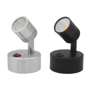 COB 5W LED Desk Portable Light Wireless Battery-Powered Lamp Button Jewelry Shop