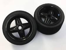 Revolution Wheels Black Pink Medium Rear Tyres V12  Banger Stock 1300 Kamtec