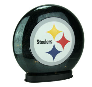 Scratch & Dent Pittsburgh Steelers Indoor LED Glass Globe Accent Lamp