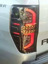 FORD RANGER T6 XLT PX XL XLS WILDTRAK LED BLACK SMOKE TAIL LIGHT LAMP REAR 12 13