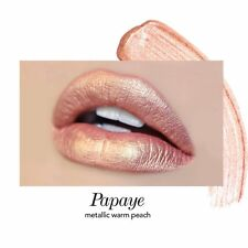 Jouer Lip Creme Liquid Lipstick Papaye Metallic Bnib! Gorgeous!