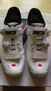 SIDI ERGO 5 Road Cycling Shoes EU 42, White