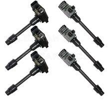 New Set of 6 Ignition Coils on Plug Pack For 1995 1999 Maxima I30 V6 2244831U16