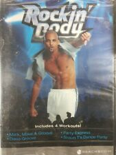 """BRAND NEW"" Shaun T's Rockin' Body DVD Includes 4 Workouts! FACTORY SEALED"
