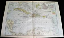 Martinique Antique Central AmericaCaribbean Maps Atlases eBay