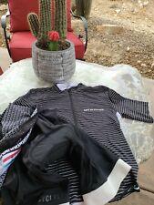 Cafe Du Cycliste Jersey/ Bib Blk/ White Stripe Xs limited edition Mr Porter