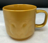 Vintage Disney Store Coffee Mug Mickey's House Memories Cup Gold