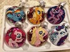 "Handmade ""My Little Pony"" Christmas Ornaments! Your choice of pony"