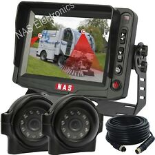 """Truck/Van Reversing Camera Kit With 5"""" Rear View Monitor And Security CCD Camera"""