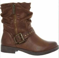 MTNG Womens Brown Ankle Boots UK Size 3 New