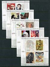 Canada 2000 Year Set NH, 115 Stamps - 19 Sheets & 37 Stamps, Complete By Scott