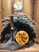 Custom Flamed Osage Anodized Aluminum Friction Pot Turkey Call w/ Striker