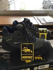 WorkForce wf50-p Safety Work Trainers Boots Size 8 Steel Toe Cap NEW