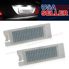 Big Sale White SMD LED License Plate Light Lamp for Opel Astra H Vectra Corsa