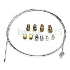 Universal Motorcycle Emergency Throttle Clutch Brake Cable Repair Kit Cables 40""