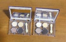 Lot of 2 Elizabeth Arden Eye Shadow Quad Pallet Vanilla, Gold, Aura & Ember New