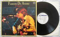 FABRIZIO DE ANDRE - IL VIAGGIO - ANNO 1991 - Philips 848 288 - MINT