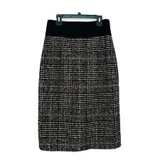 Akris Punto Tweed Wool Blend Pencil / Straight Skirt Skirt Size 4