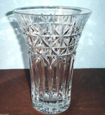"Waterford IRISH STARS 10"" Crystal Vase Made In Ireland Artisan Signed 159557 New"