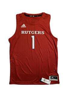 Adidas Rutgers Scarlet Knights Swingman Jersey Men's Size Large MSRP $80