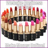 LIPSTICKS Website Business Earn £9 A SALE|FREE Domain|FREE Hosting|FREE Traffic