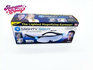 Mighty Sight Deluxe Lighted Magnifying Eyewear Glasses As Seen on TV