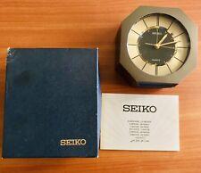 SVEGLIA SEIKO VINTAGE 1990 QUARTZ ALARM CLOCK full set