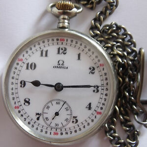 VERY RARE-OMEGA-SWISS POCKET WATCH 1912`s -  serial number 4224065