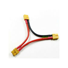 XT60 Harness For 2 Lipo Battery In Series RC Car Plane Boat Connector NiMh Wire