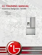LG French Door Refrigerator TRAINING MANUAL Models LFX21960ST LFX25960xx -pdf