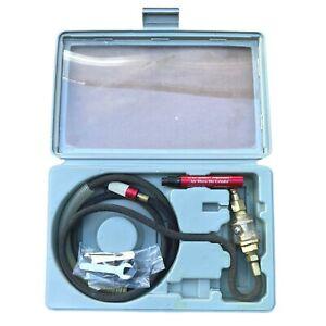"Central Pneumatic 1/8"" Air Micro Die Grinder Pencil Kit Model 47869 Case Used"