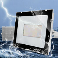 300W LED Flood Light Cool White Outdoor Garden Yard Buckle Spotlights Lamp US