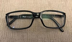 PERSOL 2965-V 95 Black Eyeglasses Glasses Frame 55-17-140mm Italy