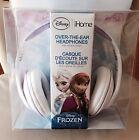 iHOME DISNEY FROZEN Elsa OVER THE EAR HEADPHONES BLUE/WHITE New