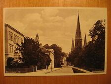 1932 alte AK Oldenburg Gartenstrasse (2)