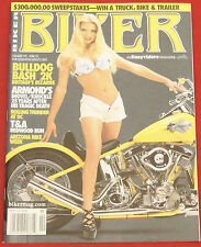 NEW Biker Magazine by EasyRiders #192 April 2001 David Mann Centerfold