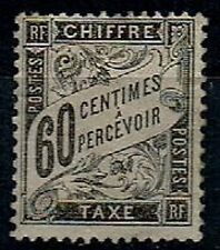 TIMBRE FRANCE 1881/92 TAXE n°21  NEUF* COTE 950€ SUPERBE