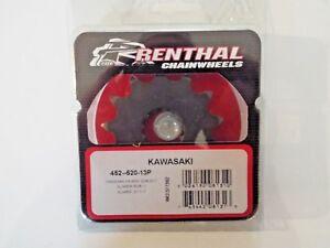 Kawasaki KXF450 2006-2020 13T Renthal Front Sprocket 452 520 13 KLX450R