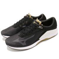 Mizuno Wave Sonic Black White Brown Men Running Shoes Sneakers J1GC1734-11
