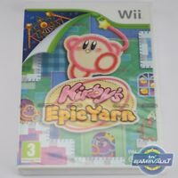 Kirby's Epic Yarn - Nintendo Wii Game - Brand New Factory Sealed - PAL Version