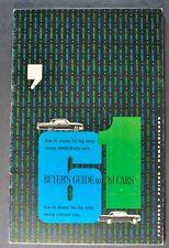1961 Mercury Buyer's Guide Brochure Monterey Meteor Comet, Wagon Nice Original