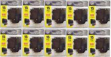 "NEW 10 Lot GE 1"" Circuit Breaker 15 AMP THQL1115GFP"