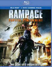 Rampage: Capital Punishment (Blu-ray/DVD, 2014, 2-Disc Set)