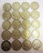 One Roll Buffalo (40) Nickels Various Dates 1926-1937