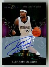 2010-11 Demarcus Cousins Black Box Crusade Auto /25 RC Ref Rookie Pelican Signed