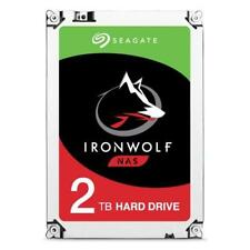 "SEAGATE Hard Disk IronWolf per NAS 2 TB 3,5"" Interfaccia Sata III 6 Gb / s 5900"
